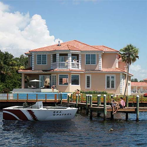 aanbod woningen - Riverfront house 1