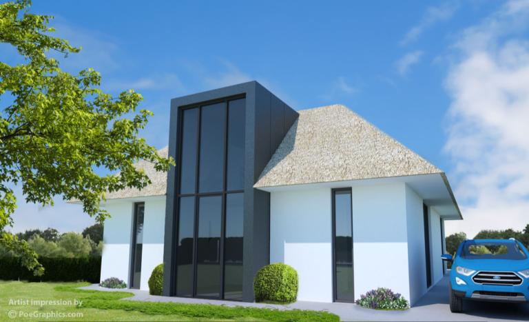 Render Vroondaal - villa 313 meer lucht